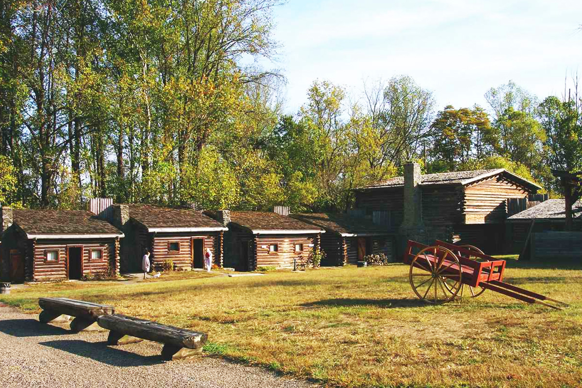 Fort Boonesborough in Kentucky