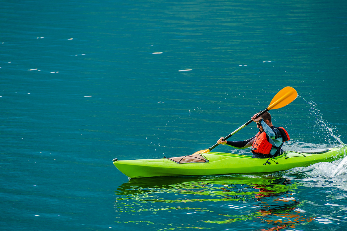 Kayaking Water